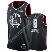 Camisetas NBA Baratas Golden State Warriors 2019 Demarcus Cousins 0# Negro All Star Game Swingman..